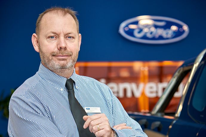 Emmanuel : directeur concession Ford Carcassonne